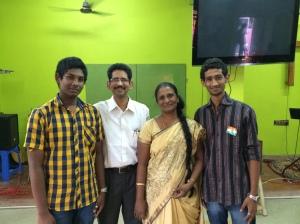 Senior Pastor family